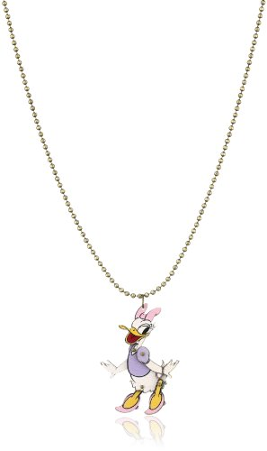 Disney Couture Moveable Wooden Daisy Necklace