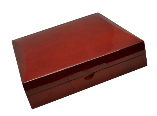 Cherry Wood Large Necklace Jewelry Gift Box