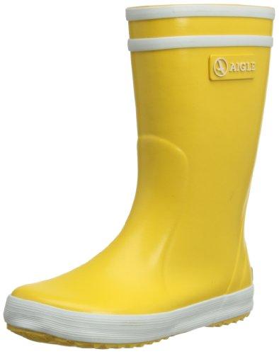 Aigle Lolly-Pop 8455Z, Stivali unisex bambino, Giallo (Gelb (jaune / blanc 3)), 30