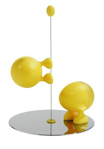 Lilliput Salt & Pepper Set, Yellow - Buy Lilliput Salt & Pepper Set, Yellow - Purchase Lilliput Salt & Pepper Set, Yellow (Alessi, Home & Garden, Categories, Kitchen & Dining, Cook's Tools & Gadgets, Tool & Gadget Sets)