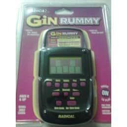 Electronic Handheld Gin Rummy Game