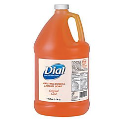 Dial Professional 88047 Dial Gold Antimicrobial Liquid Soap, 1 Gallon (Case of 4) (Liquid Hand Soap Dial compare prices)