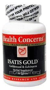 Isatis Gold 90 Tablets by Health Concerns