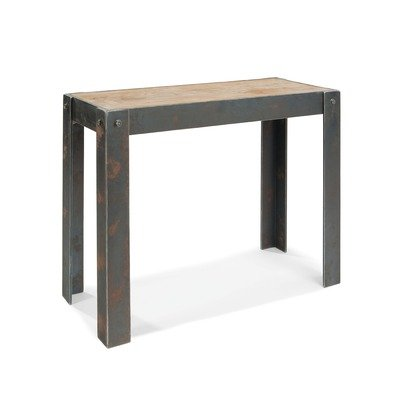 Cheap Bolt Console Table in Distressed Natural (HU-1023-24)