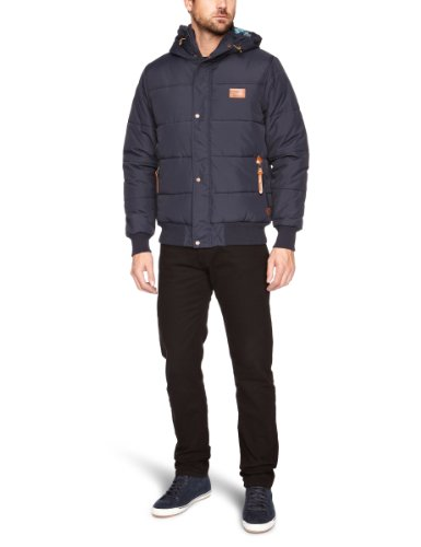 Bench Lasso Men's Jacket Dark Navy Blue Small