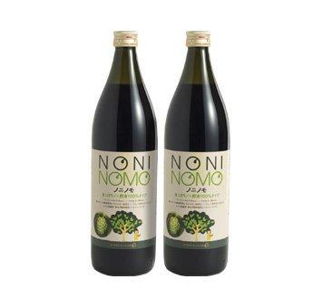完熟ノニ果実をそのままぎゅっと生しぼりノニパワーがストレートに伝わるノニジュース ノニノモ フレッシュ生しぼりタイプ 2本