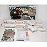 Wii/Wii-U Cabela's DANGEROUS HUNTS 2013 Game Set Top Shot bear 2-GUN Bundle