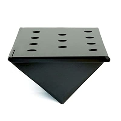 Charcoal Companion Nonstick V-Shaped Smoker Box