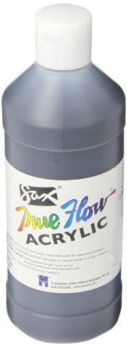 Sax True Flow Medium-Bodied Acrylic Paint - Pint - Mars Black