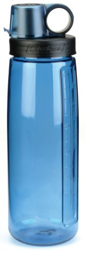 NALGENE Tritan OTG BPA-Free Water Bottle,Slate Blue