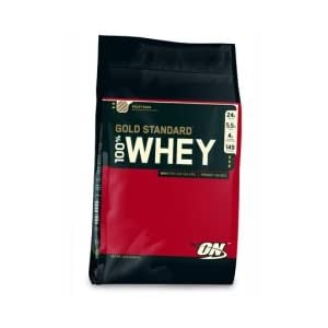 Optimum Nutrition 100% Gold Standard Whey Protein - 10 Lbs Double Rich Chocolate