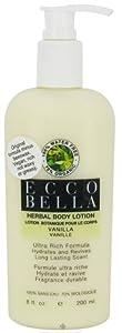 Ecco Bella Herbal Body Lotion Vanilla - 8 Oz, Pack of 3 (image may vary) from Ecco Bella