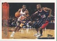 Charlie Ward New York Knicks 1995 Topps Autographed Hand Signed Trading Card. by Hall of Fame Memorabilia