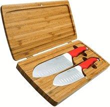 Rachael Ray Furi FUR863 Furi Gusto-Grip Antimicrobial 2-piece set w/Bamboo case