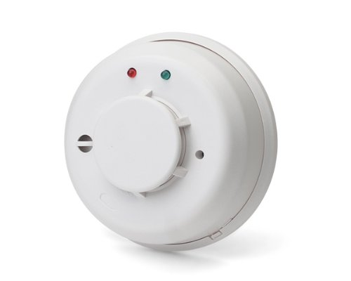 Honeywell 5808W3 Wireless Photoelectric Smoke/Heat Detector