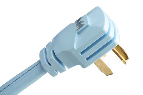 Monster Powerdryer Ac Power Cord For Electric Dryers 6Ft., 220V, 30 Amp 3 Prong, Round Cord Mp Pd300-6R front-272991