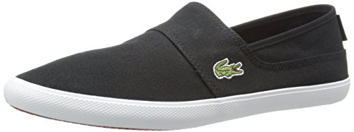 Lacoste Men's Marice LCR Fashion Sneaker, Black/Black, 10.5 M US