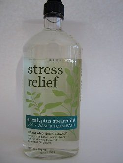 Bath & Body Works Eucalyptus Spearmint Stress Relieving Body Wash - 10 Oz