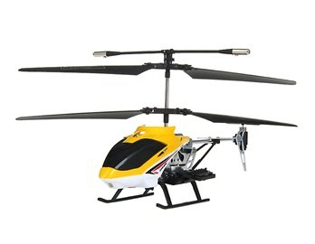 DH 812-3 Alloy 3-Channel RC Helicopter with Gyroscope Missiles