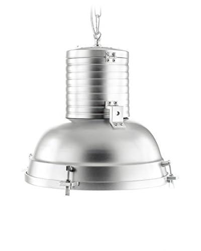 Contemporary Living Lámpara De Suspensión Factory Plateado