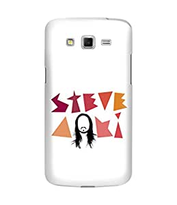 The Fappy Store steve aoki plastic Back Cover For Samsung grand 2