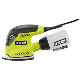 Buy Discount Factory-Reconditioned Ryobi ZRCFS1503GK 1.2 Amp Corner Cat Finish Sander (Green)