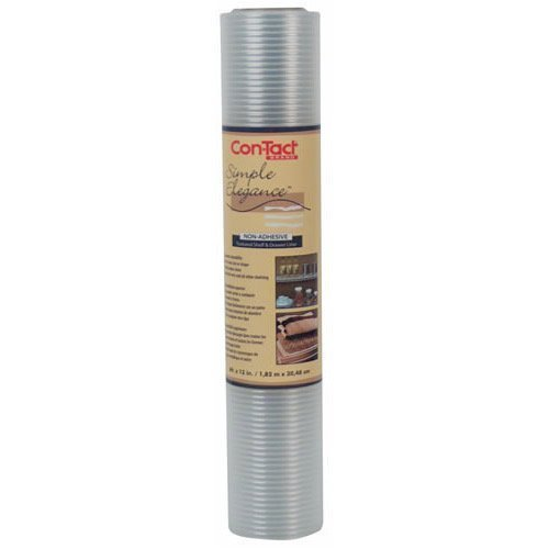 Con-Tact 05315 Clear Ribbed Shelf Liner