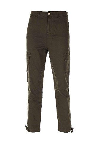 Pantaloni Donna TWIN-SET SA52XB Autunno Inverno 2015 Verde foresta 30