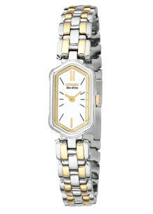CITIZEN Watch:Citizen Women's EG2364-53A Silhouette Eco-Drive Two-Tone Watch Images