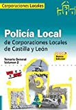 img - for Policia Local de Castilla y Leon. Temario General. Volumen II book / textbook / text book