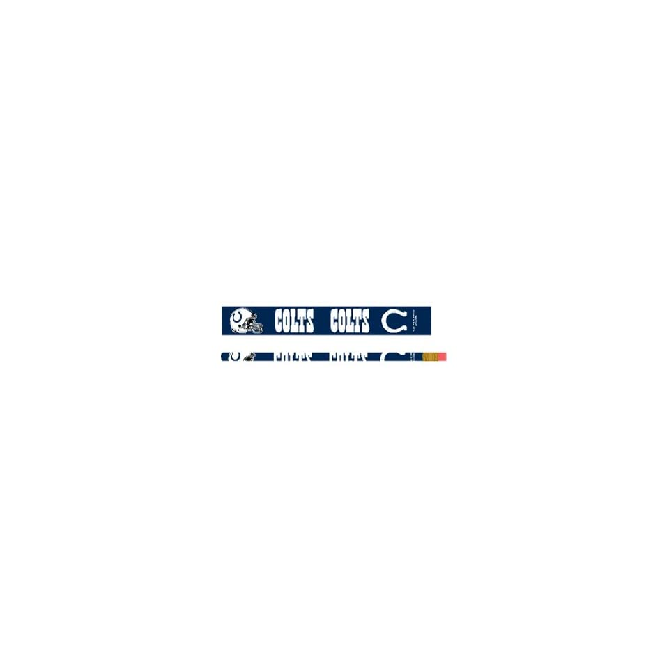 NFL Indianapolis Colts Pencil 6 Pack *