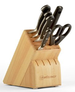 Wüsthof Classic Knife Block Set - 7 pcs - BONUS