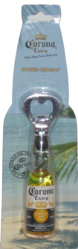 Corona Extra Bottle Opener – Replica Bottle with Liquid & Floating Lime