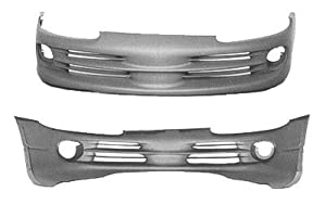 FRONT BUMPER COVER - DODGE INTREPID 1998-2004 ES MODEL WITH FOG LAMPS BRAND NEW