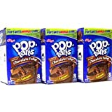 Kelloggs Frosted Chocolate Fudge Pop Tarts 416g (Pack of 3)