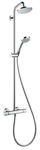 Installations salles de bain hansgrohe 4011097679433 moins - Colonne de douche hansgrohe croma 160 ...