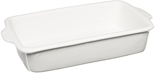 Maxwell And Williams Aa0884 Basics Rectangular Baker, 12.5-Inch, White