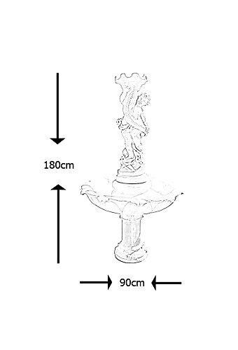 Fontaine avec enfant en Pierre reconstituée 90x180cm