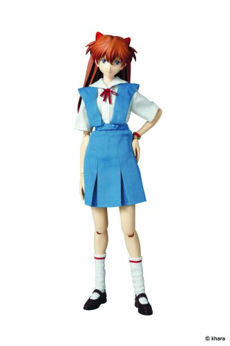 Medicom Evangelion: 2.0 You Can (Not) Advance: Asuka Real Action Hero (School Uniform Version)