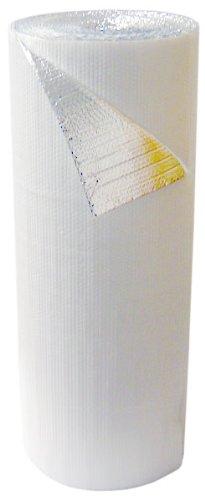 Double Bubble White Foil Insulation 4' x 75' - 300 s.f. (White Facing Insulation compare prices)