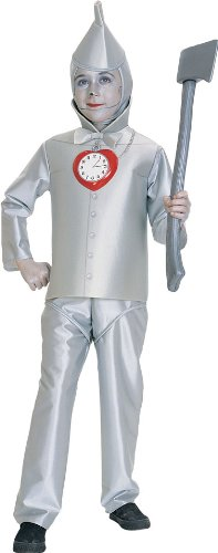 Wizard of Oz Child's Tin Man Costume, Medium