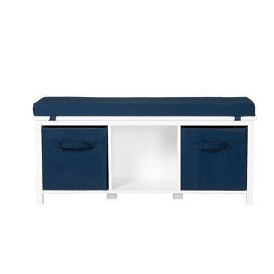 Storage Bench with Storage Bins