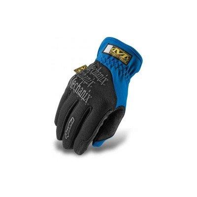 Fast Fit Glove by Mechanix - Blue / XLarge single sided blue ccs foam pad by presta