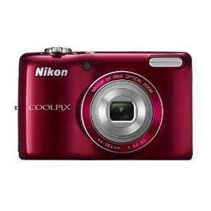 Nikon COOLPIX L26 16.1 MP Digital Camera with 5x Zoom NIKKOR Glass Lens and 3-inch LCD by Nikon