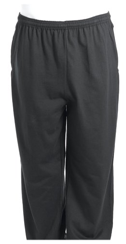 Russell Athletic Men's Big & Tall Cotton Jersey Pull-on Pant, Black, 4XT