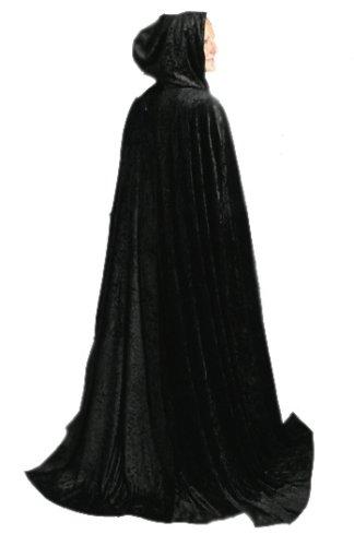 Black Adult Cloak