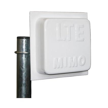 Yagiwlan Richtfunk performance LTE 800 14dBi Leistungsgewinn Technologie MIMO antenne + 2 x 5 M SMA pour Huawei Speedport B390S 2 B390 S-2 DD800 LTE, routeur, Speedport B390S B390-B1000 B2000 Lancom, 1781-4 g, Vodafone Turbobox 803 LG FM300, 6840 DD800 FR