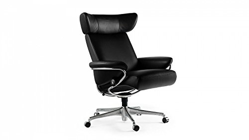 stressless jazz home office m schwarz b rostuhl chefsessel g nstig. Black Bedroom Furniture Sets. Home Design Ideas