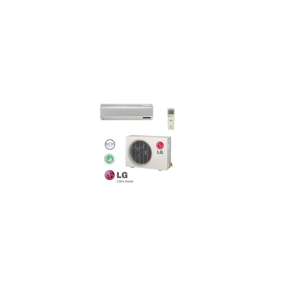 LG LS186CE Wall Mount Single Zone Mini Split Cooling Ductless System 17,800 BTUs