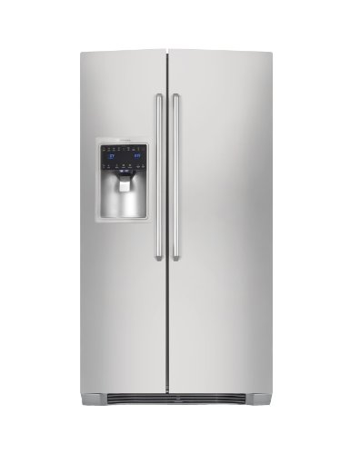 Electrolux : EI23CS55GS 22.5 cu. ft. Side by Side Refrigerator w/IQ-Touch - Stainless Steel